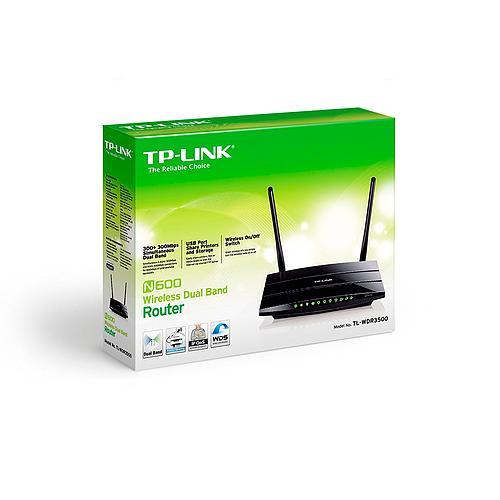 Router TP LINK TL WDR3500 Banda Dual N600 003