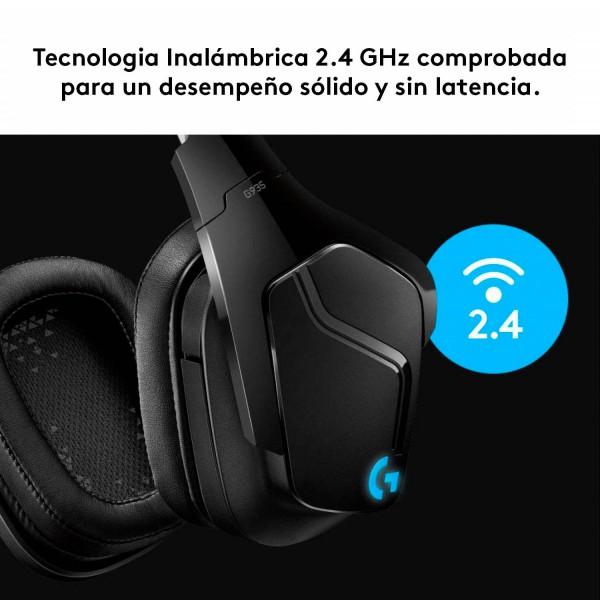 Diadema Gamer InalambricaLogitech G935 003