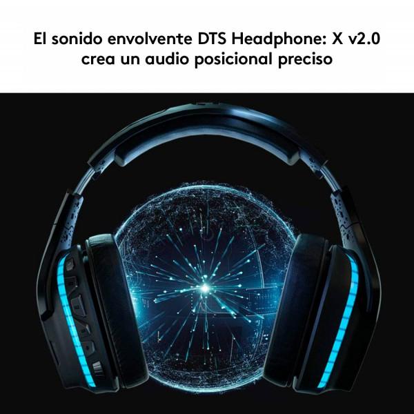 Diadema Gamer InalambricaLogitech G935 004