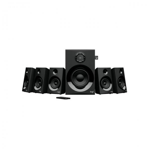 Parlantes Logitech 5.1 Z607 Bluetooth Radio FM Usb y MicroSD Bogota 002