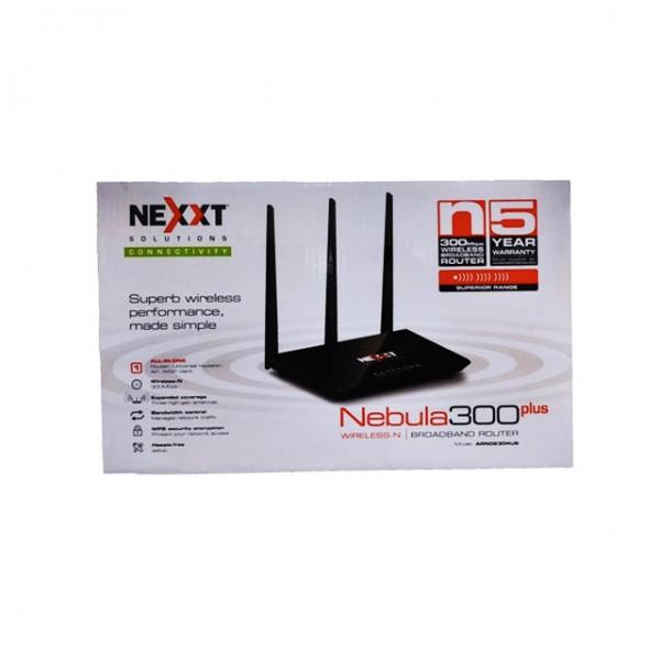 Router Repetidor Access point WISP Nexxt Solutions Nebula 300Plus ARN02304U6 negro Bogota 003