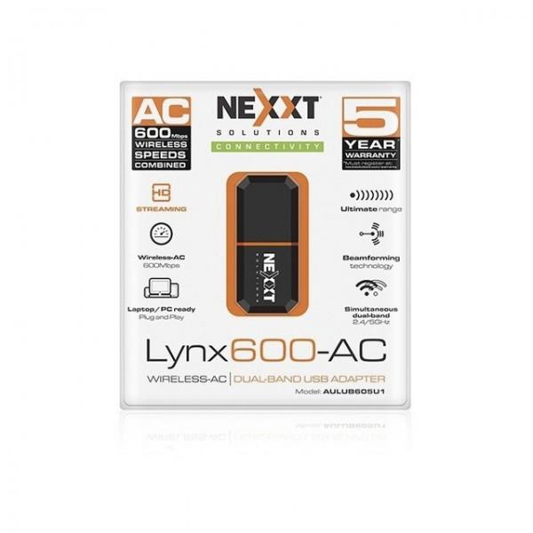 Tarjeta De Red Inalámbrica 600mbps Adaptador Usb Lynx600 ac Bogota 004