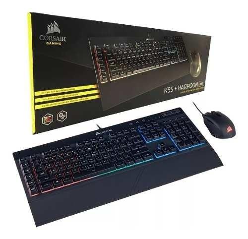 Combo Gamer Corsair K55HARPOON