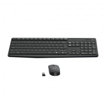 Logitech Mk235 Combo Inalambrico Teclado Multimedia y Mouse