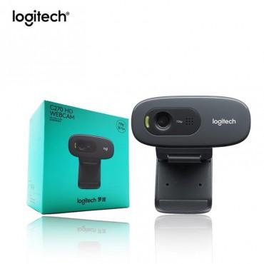 Logitech camara web C270 HD 720P con micr fono incorporado USB 2 0 para ordenador